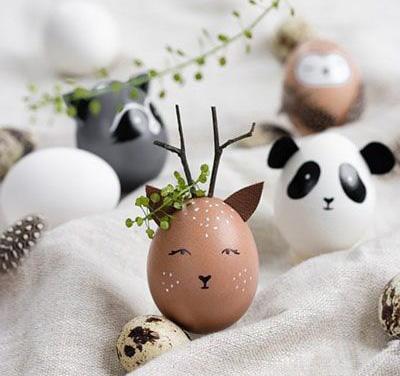 Роспись яиц для детей 3