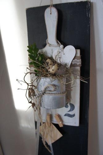 Украшение дома к Пасхе с помощью панно
