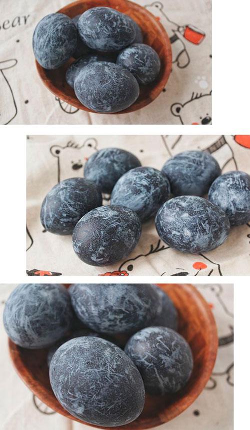 покрасить яйца чаем каркаде рецепт