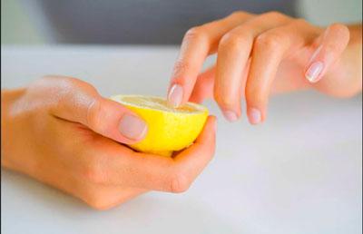 Маска для роста ногтей в домашних условиях с лимоном