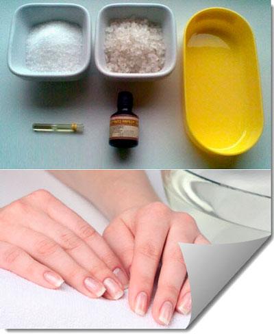 Маска для роста ногтей в домашних условиях с йодом