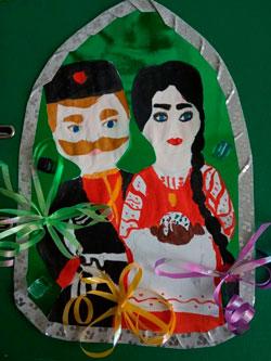 поделка на тему Пасха в кубанской семье