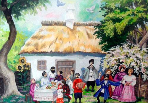 пасха в кубанской семье поделки своими руками