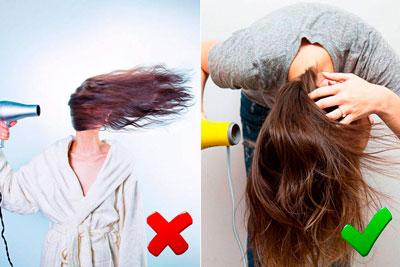 Сделать объем у корней на средние волосы надолго