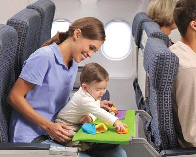 чем занять ребенка в самолете 7 лет
