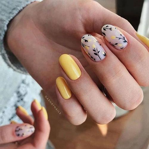 дизайн маникюра на короткие ногти 11