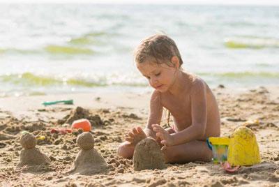 игры с детьми на море на пляже