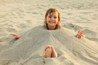 игры на пляже с детьми