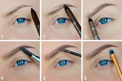 Как правильно оформить брови 3