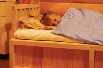 как приучить ребенка спать отдельно в 6 лет