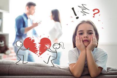 как рассказать детям о разводе с мужем