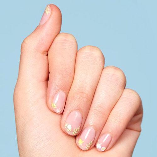 Летний дизайн маникюра на короткие ногти 8