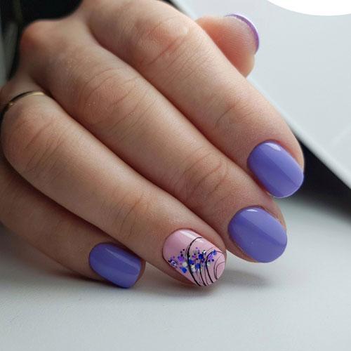 летний маникюр на короткие ногти фото дизайн