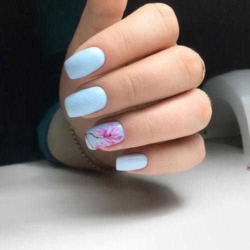 маникюр дизайн на короткие ногти яркий летний 2