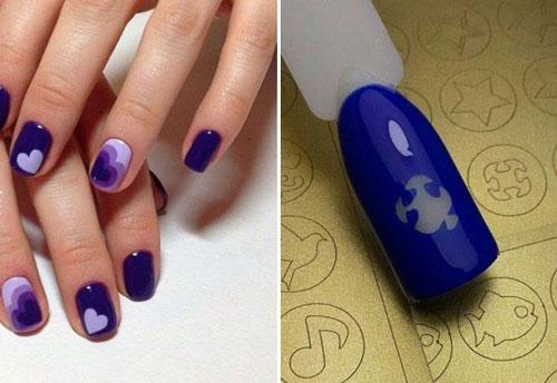 красивый летний маникюр дизайн ногтей