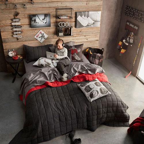 подростковая спальня в современном стиле