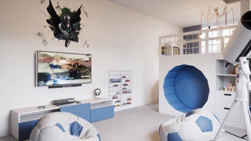как оформить комнату мальчика подростка в современном стиле