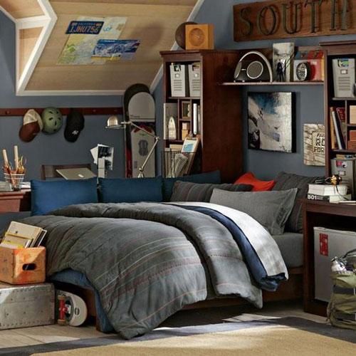 цвета в спальне современного подростка 4