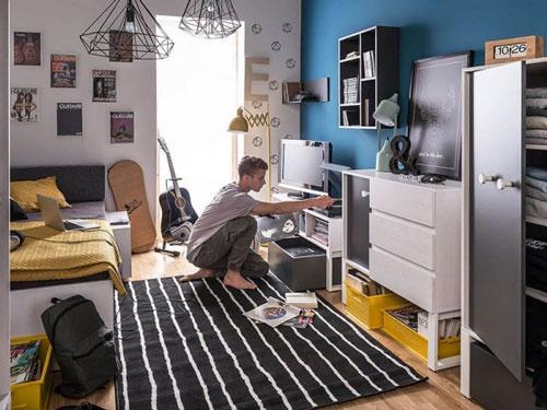 Спальня в современном стиле для подростка 3