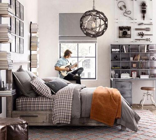 фото оформления спальни подростка в современном стиле 9