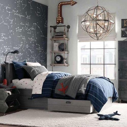 фото оформления спальни подростка в современном стиле 8