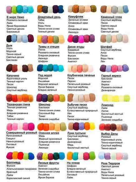 разноцветные руки маникюр 1