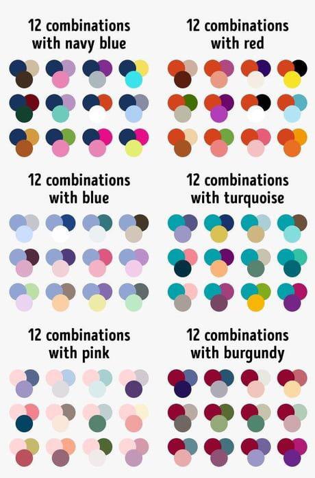 красивый разноцветный маникюр