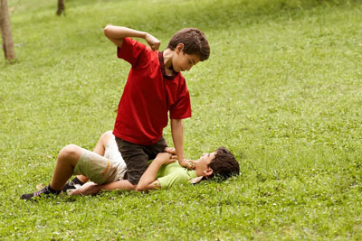 если ребенок ударил другого ребенка в садике 2