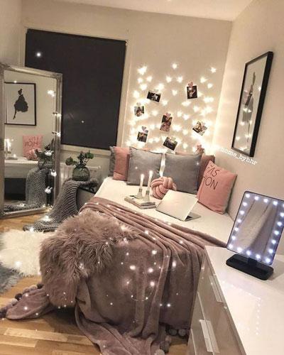 как оформить комнату девушки подростка в современном стиле 2