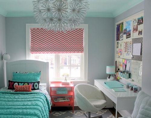 Комната девушки подростка в современном стиле
