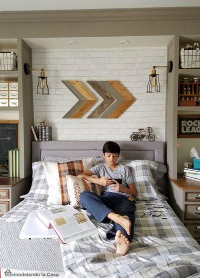 спальня подростка в современном стиле для мальчика 2