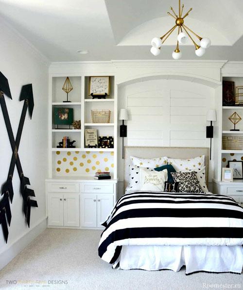 дизайн спальни подростка с фото 6