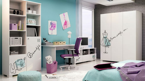 дизайн спальни подростка с фото 5