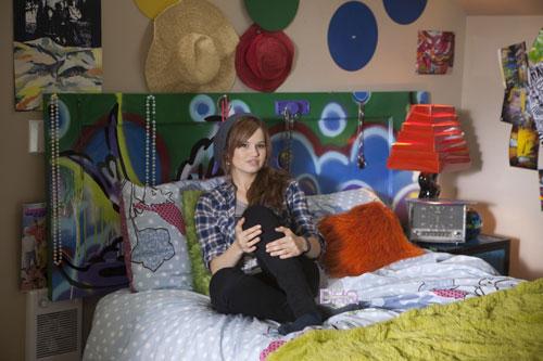 стильная спальня подростка