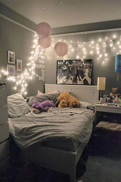 современный стиль в спальне для подростка 2