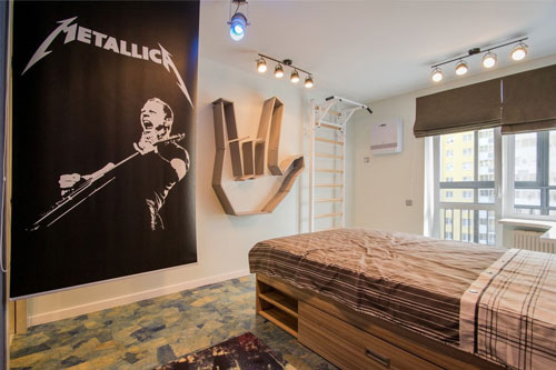 дизайн комнаты подростка в современном стиле 2