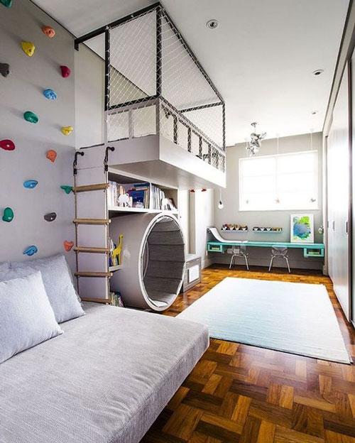 идеи оформления спальни подростка в современном стиле 2