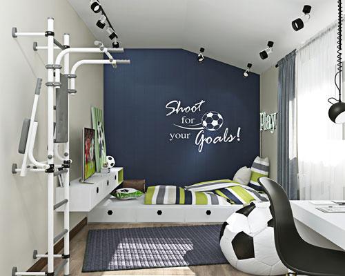 дизайн спальни подростка с фото 8