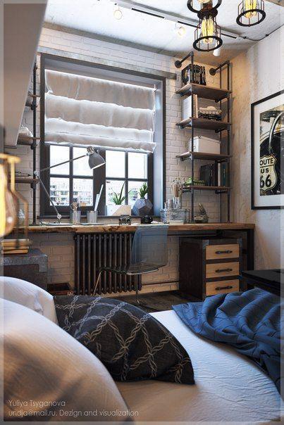 современная мебель для спальни подростка 5