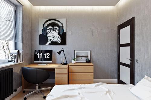 современная мебель для спальни подростка 4