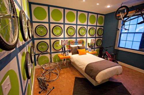 стильная спальня подростка 2
