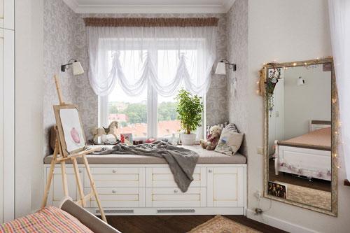 спальня девушки подростка