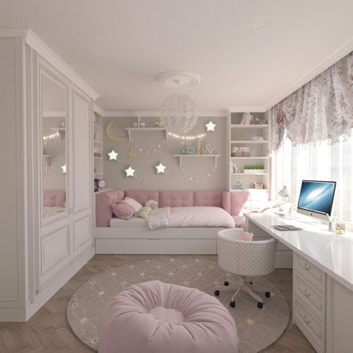 ремонт детской комнаты девочке подростку