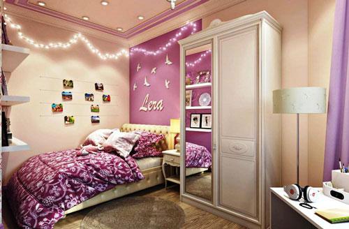 детские комнаты для 2 девочек подростков