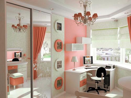 цвета для детской комнаты девочке подростку