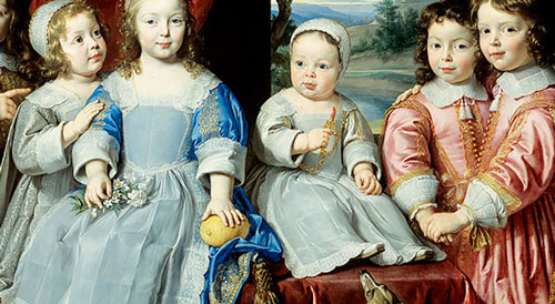 детская мода 18-19 век