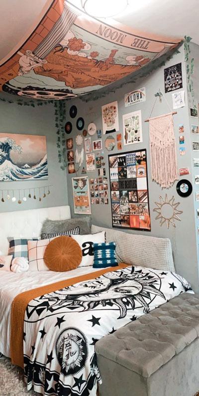 дизайн комнаты девочки подростка белый