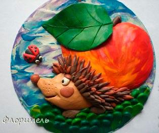 Поделки из пластилина на тему осени в детский сад