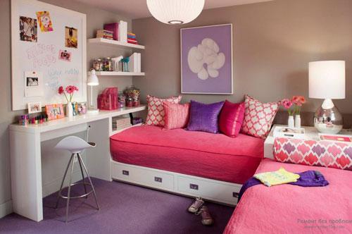 комната для подростка девочки 16 лет