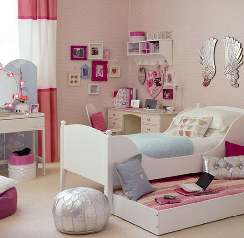 как оформить комнату для девочки подростка